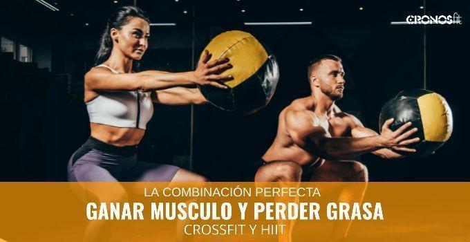Cómo quemar grasa y ganar músculo a la vez