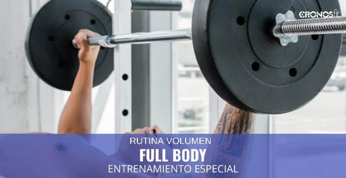 entrenamiento full body especial