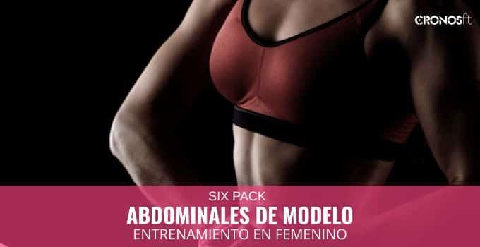 luce abdominales de modelo