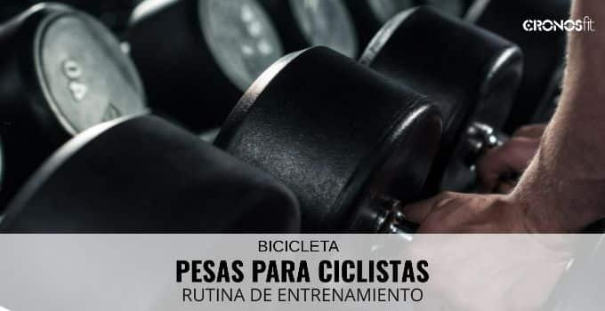 entrenamiento con pesas para ciclistas