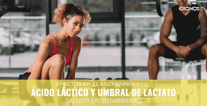 ácido lactico y umbral de lactato