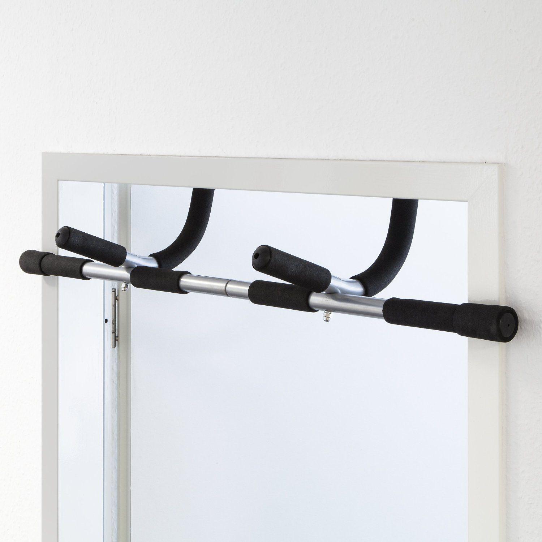 Barra fija de ejercicio para marco de puerta
