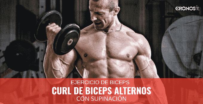 curl de biceps alterno