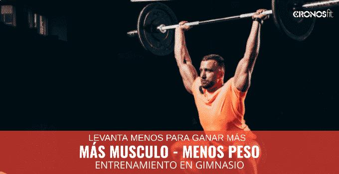 mas musculo menos peso