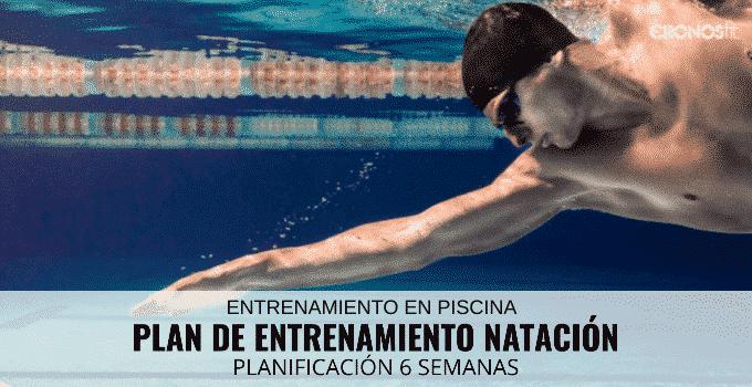 plan de entrenamiento natacion 6 semanas