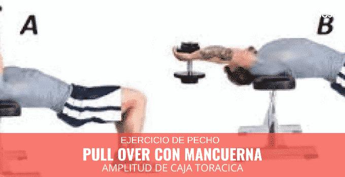 Pull Over con Mancuerna