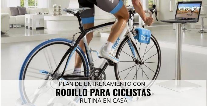 rodillo para ciclistas