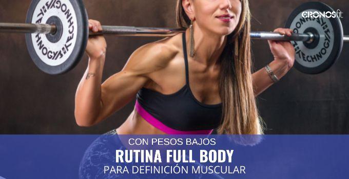 Full Body Pesos Bajos