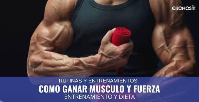 Como ganar musculo y fuerza