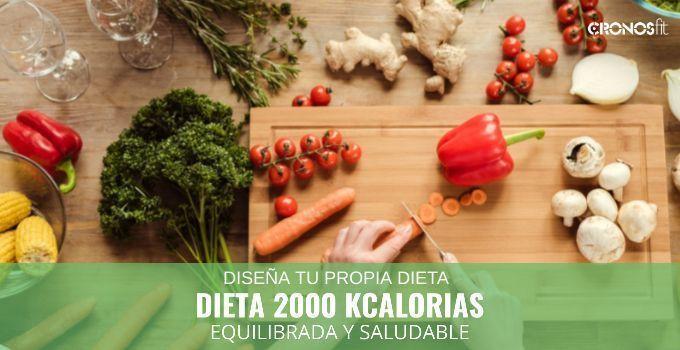 dieta 2000 kcal equilibrada