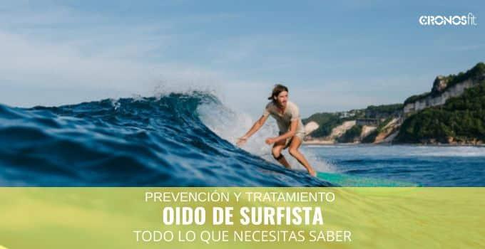 Oido de surfista