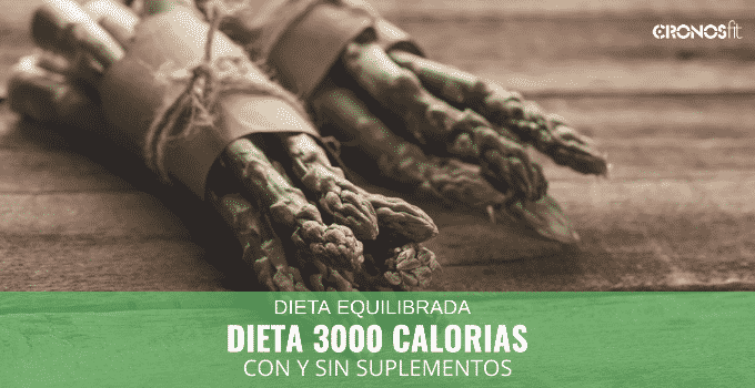 Dieta 300 calorías con y sin suplementos