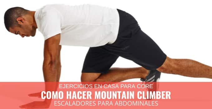 Como hacer mountain climber
