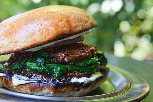 Mushroom Burger - hamburguesa sin carne