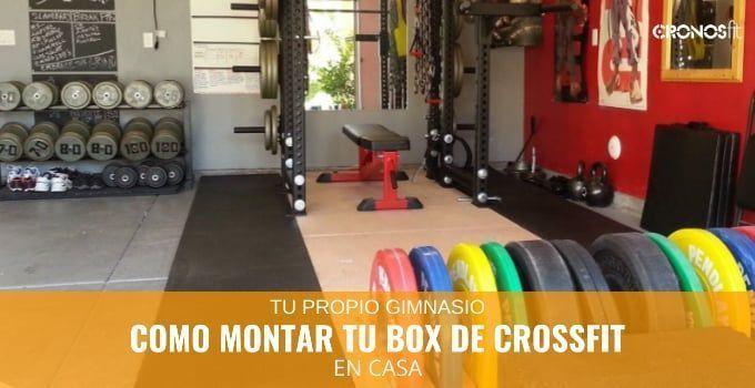 Como montar un box de CrossFit en casa