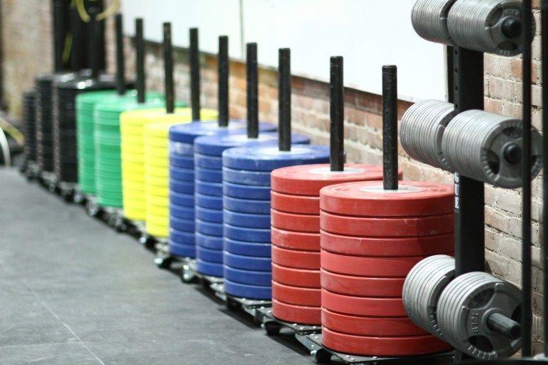 Gimnasio CrossFit en casa - Discos halterofilia
