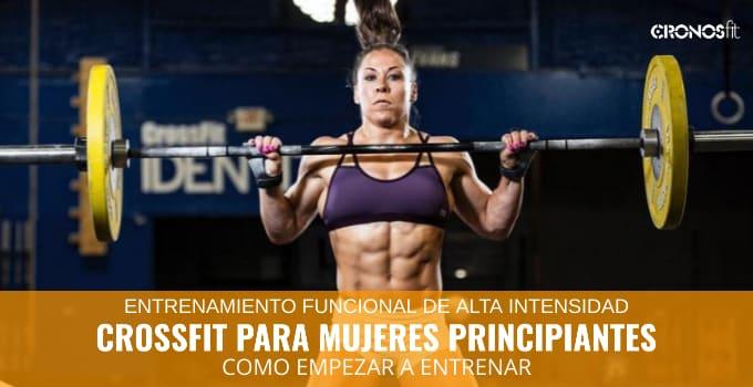 CrossFit para mujeres principiantes