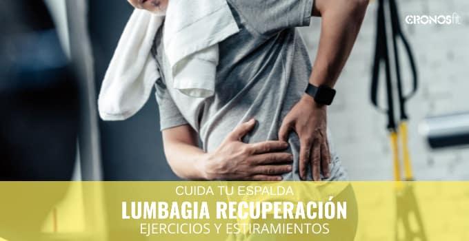 Lumbalgia y recuperación