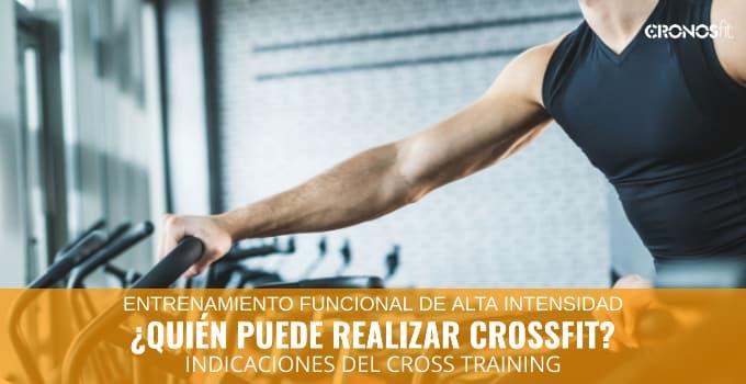 Quien puede realizar CrossFit