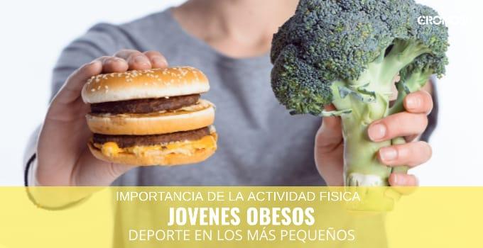 Alimentación jóvenes obesos