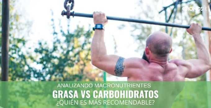 Grasa contra carbohidratos