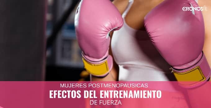 Efecto Entrenamiento Fuerza en Mujeres