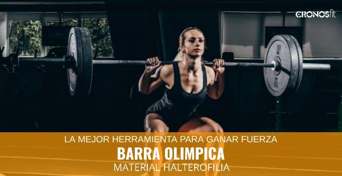 Barra Olimpica Material Deportivo