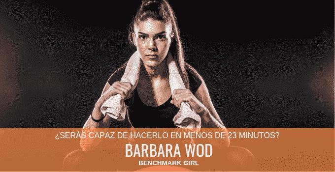 Barbara WOD de CrossFit