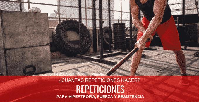 cuantas repeticiones de ejercicios hacer