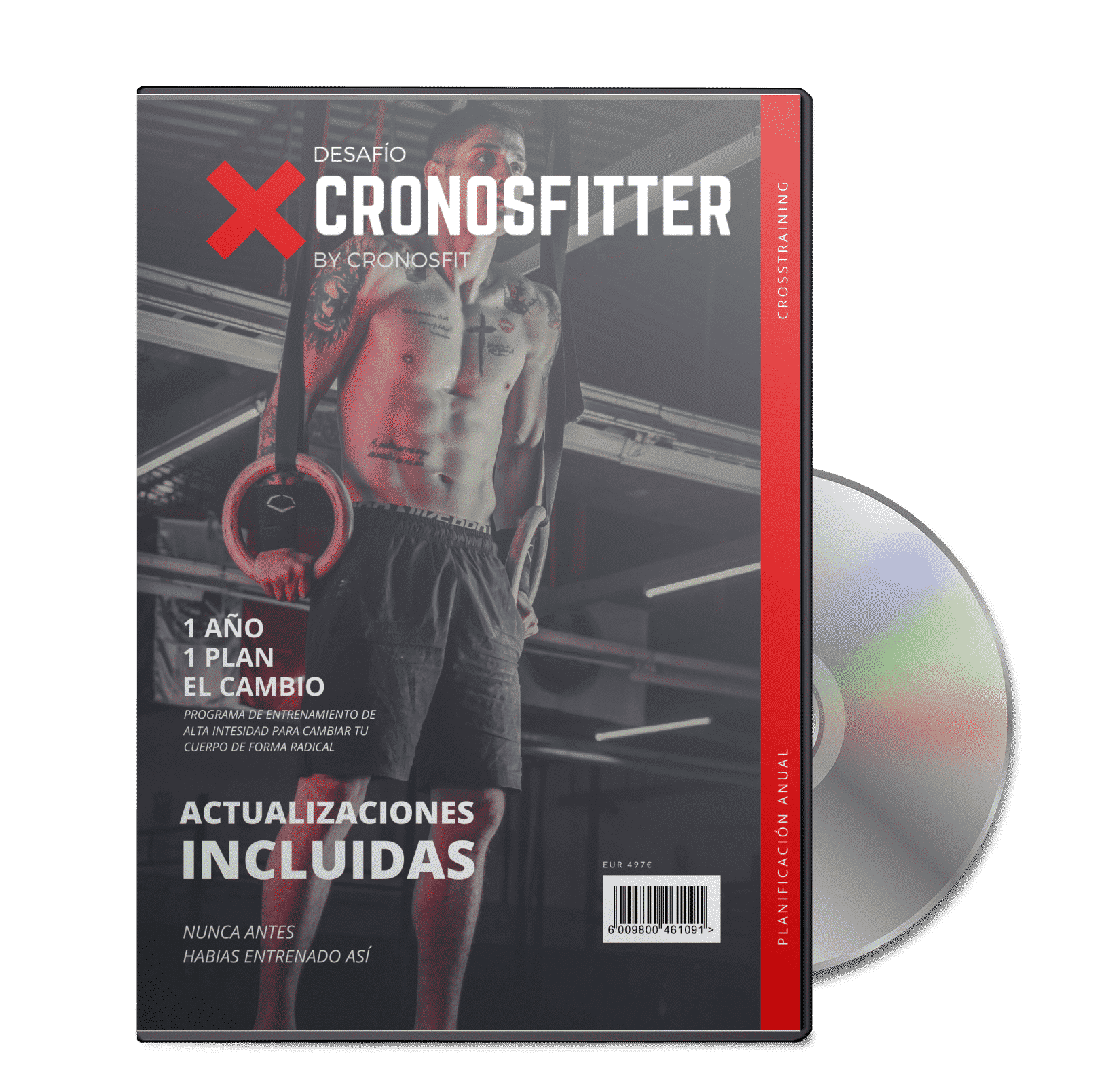 Portada CD Desafío CronosFitter