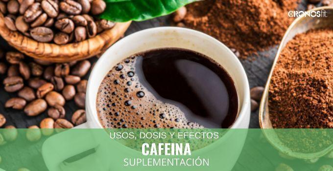 Cafeína suplemento deportivo
