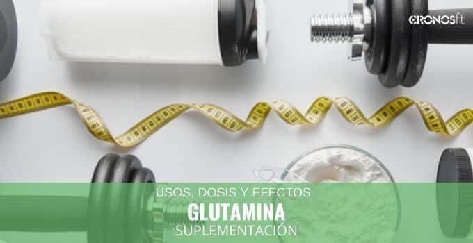 Glutamina suplementación deportiva