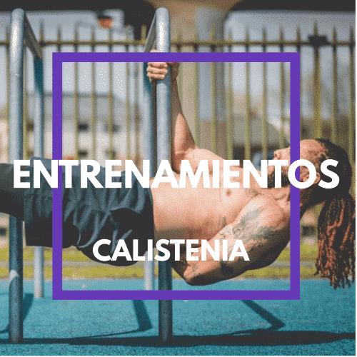Entrenamientos Calistenia