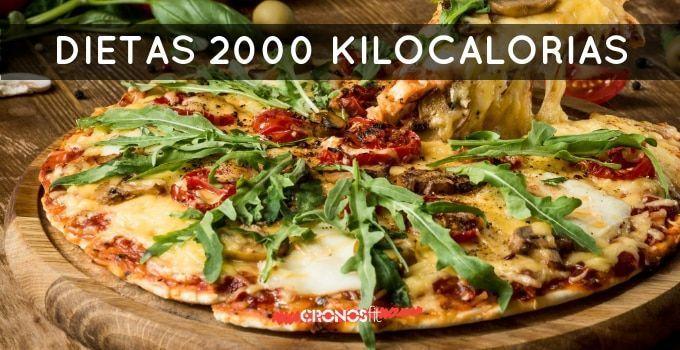 Dietas de 2000 kilocalorías