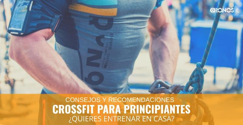 Como hacer CrossFit en casa para Principiantes 2