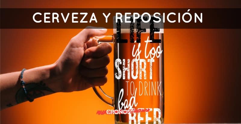 Cerveza y reposición