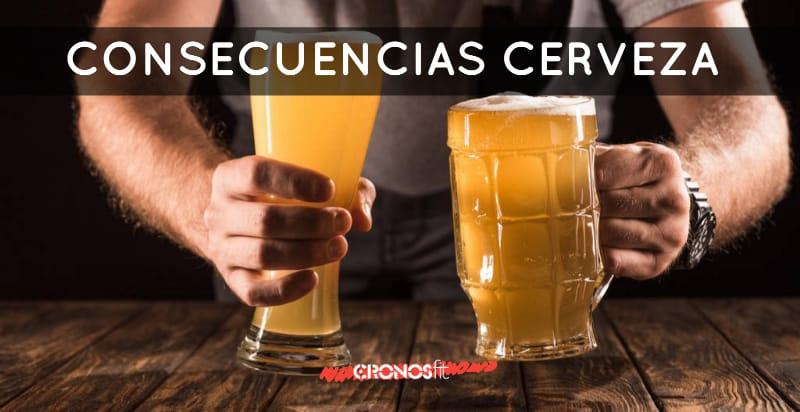 Consecuencias beber cerveza